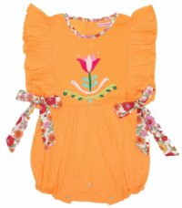 Honore - Summer Dahlia with Embroidery