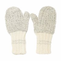 Campside Ribbed Mittens - Grey