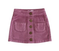 Ava Cord Skirt - Orchid