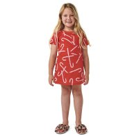 * PRE-ORDER * Candy Cane Red S/S Nightie