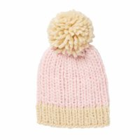 Traveller Chunky Beanie - Pink