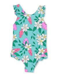 Milky Baby Tropical Swimsuit