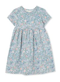 Vintage Floral Dress (Available up to Size 12!)