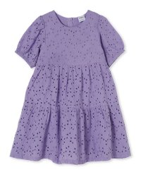 Lilac Broderie Dress
