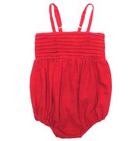 Sophie Playsuit - Red