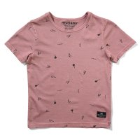 Ashcon Tee - Washed Dusty Pink