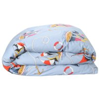 Hey Sailor Cotton Quilt Cover - King Single/Double