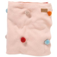 Mix Bag PomPom Cotton Blanket - Throw
