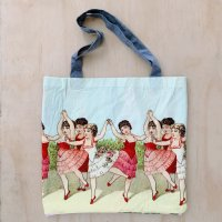Upcycled Jersey Tote Bag - #3 - 36cm x 40cm
