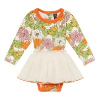 70s Floral Baby Circus Dress