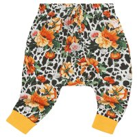 Snow Leopard Floral Baby Trackpants