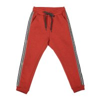 Curved Leg Trackies - Reflector Stripe