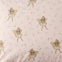 * PRE-ORDER * Flower Fairies Tiny Daisy Dancer Cotton Fitted Sheet - King Single