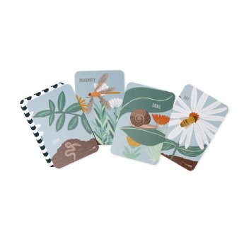 Garden Friends Snap and Memory Game
