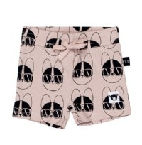 French Shades Sporty Shorts - Rose Dust
