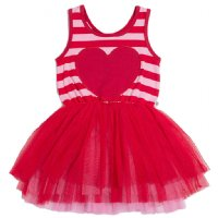 Happy Heart Tutu Romper (Baby)