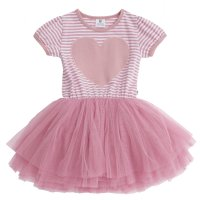 New Favourite Tutu - Hot Pink Lurex Stripe (Baby)