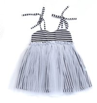 Georgie Tulle Dress - Stripe