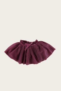 Soft Tulle Skirt - Damson