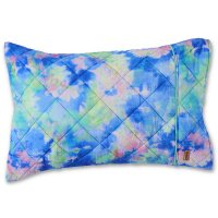 * PRE-ORDER * Peace Love & Tie Dye Quilted Pillowcases - Single