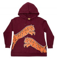 Leaping Tiger A-Line Hood Crew