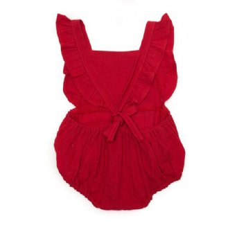Mima Playsuit - Red