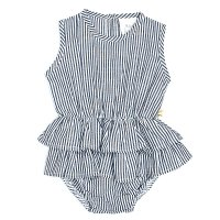 Mischa Playsuit - French Stripe