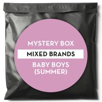 $100 Mixed Brands Mystery Pack - Baby Boys Summer (Valued at $250)