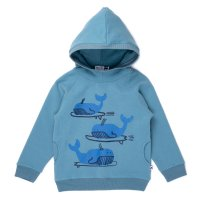 Surfing Whales Furry Hood