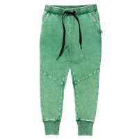 Blasted Sliced Trackies - Electric Green Wash