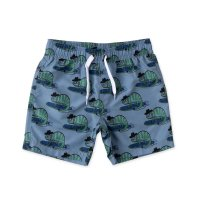 Carving Chameleon Boardies - Muted Blue