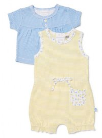 Gidget 2 Piece Set Romper & Cardigan