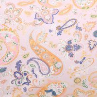 Paisley Cotton Fitted Sheet - King Single