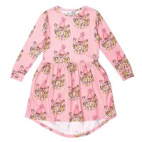 * PRE-ORDER * Party Tigers Dress - Light Rose