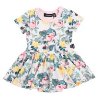 A Rose Is A Rose S/S Waisted Dress (Baby)