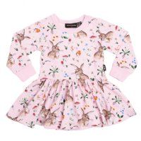 Cotton Tail L/S Waisted Dress