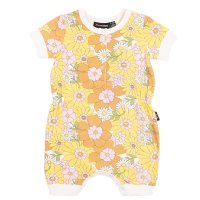 Flower Power S/S Playsuit (Baby)