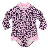 Pink Leopard L/S One Piece (Baby)