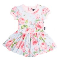 Vintage Girl S/S Waisted Dress (Baby)