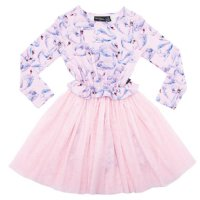 Swans L/S Flounce Dress