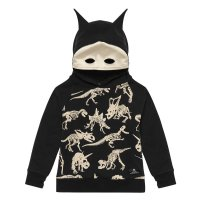 Fossil Mask Hoodie
