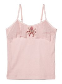Twinkle Toes Singlet Top - Blossom