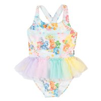 Adventures In Care-A-Lot Tulle One Piece - Multicoloured