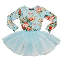 French Floral L/S Circus Dress