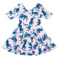 * PRE-ORDER * Wild Cats Mabel Waisted Dress