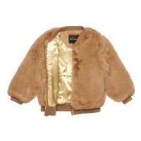 Tan Fur Jacket