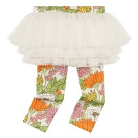 70s Floral Baby Circus Tights