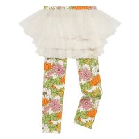 * PRE-ORDER * 70s Floral Circus Tights