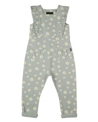 * PRE-ORDER * Green Daisy Jumpsuit