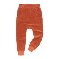 Rust Terry Towelling Track Pants
